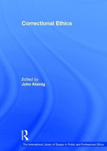 Correctional Ethics (Hardback)