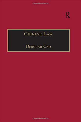 9780754624356: Chinese Law: A Language Perspective