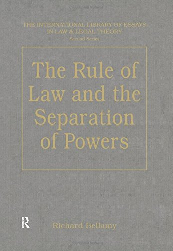 9780754624639: The Rule of Law and the Separation of Powers