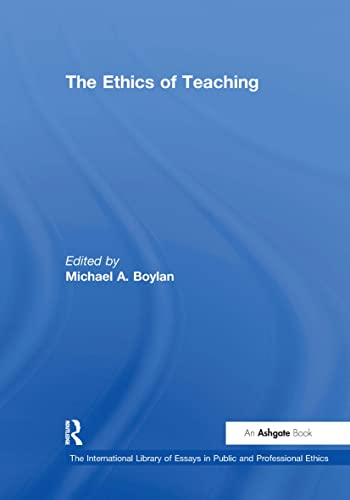 The Ethics of Teaching (Hardback)