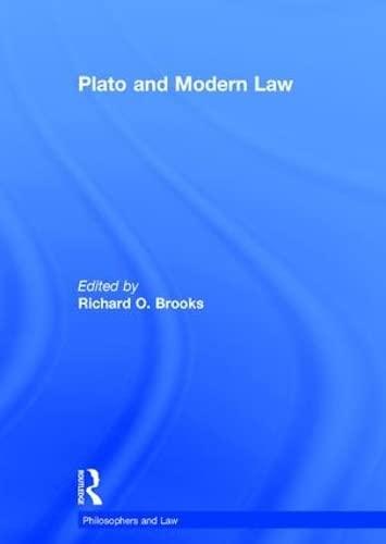 Plato and Modern Law (Hardback)