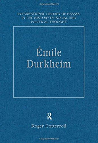 Emile Durkheim: Justice, Morality and Politics: Cotterrell. Roger (Editor)