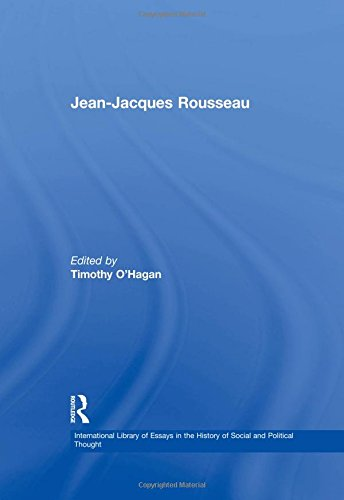 Jeanjacques Rousseau International Library Of   Jeanjacques Rousseau International Library Of Essays In  The History Of Social