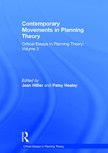 9780754627258: Contemporary Movements in Planning Theory: Critical Essays in Planning Theory: Volume 3