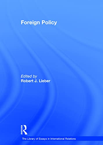Foreign Policy (Hardcover): Robert J. Lieber