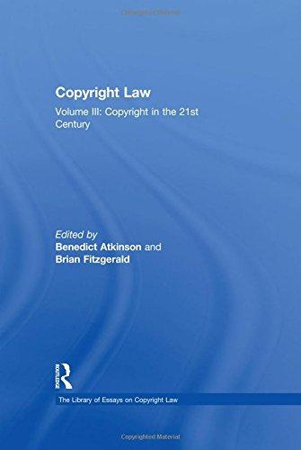 Copyright Law: Fitzgerald, Brian;atkinson, Benedict;
