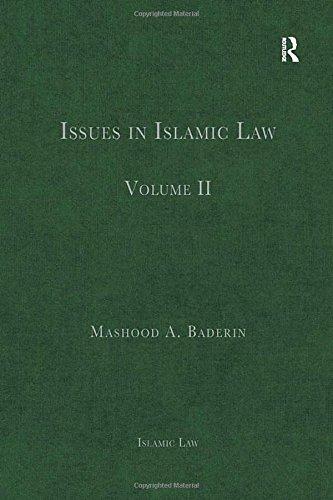 Issues in Islamic Law: Volume II (Hardback)