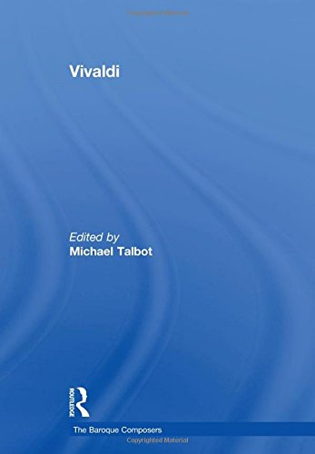 9780754628842: Vivaldi (The Baroque Composers)