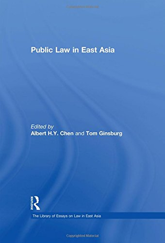 Public Law in East Asia (Hardback): Tom Ginsburg