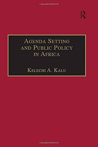 9780754637080: Agenda Setting and Public Policy in Africa (Contemporary Perspectives on Developing Societies)