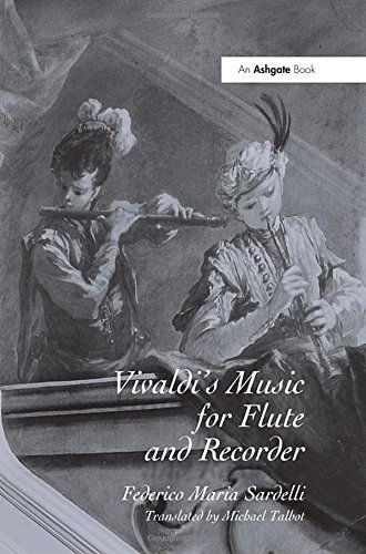 9780754637141: Vivaldi's Music for Flute And Recorder