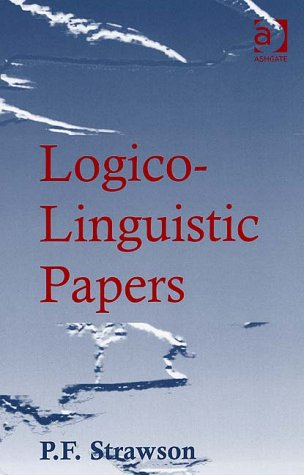 9780754637240: Logico-Linguistic Papers