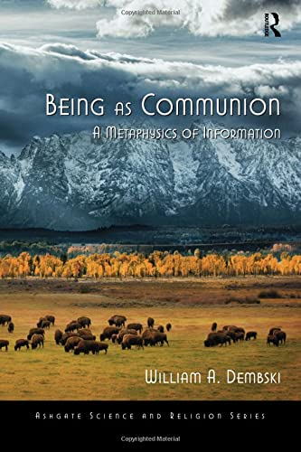 9780754638582: Being as Communion: A Metaphysics of Information (Ashgate Science and Religion Series)