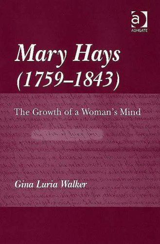 9780754640615: Mary Hays (1759-1843): The Growth of a Woman's Mind