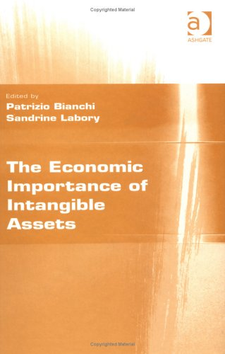 9780754641803: The Economic Importance of Intangible Assets