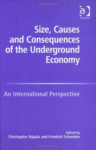 9780754642480: Size, Causes And Consequences of the Underground Economy: An International Perspective