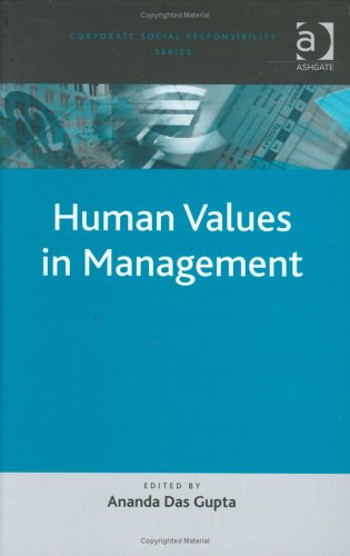 9780754642756: Human Values in Management (Corporate Social Responsibility)