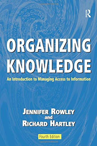 9780754644316: Organizing Knowledge