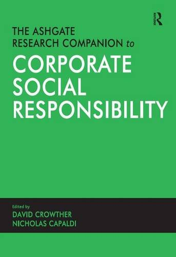 9780754647775: The Ashgate Research Companion to Corporate Social Responsibility