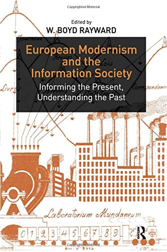 9780754649281: European Modernism and the Information Society: Informing the Present, Understanding the Past