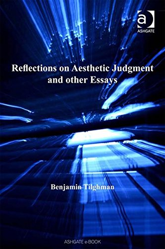 9780754657071: Reflections on Aesthetic Judgment and Other Essays