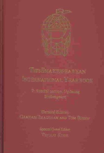 The Shakespearean International Yearbook: Bradshaw, Graham; Bishop, Tom; Kishi, Tetsuo
