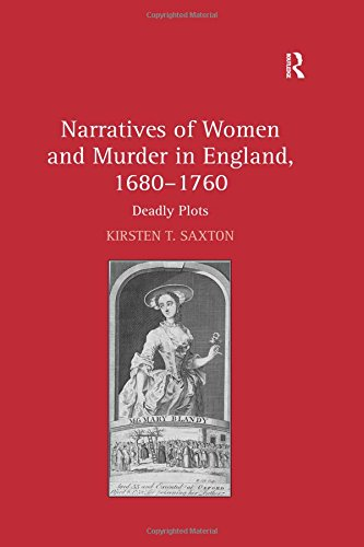 9780754663645: Narratives of Women and Murder in England, 1680-1760: Deadly Plots