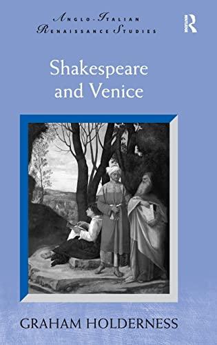 9780754666066: Shakespeare and Venice (Anglo-Italian Renaissance Studies)