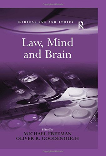 9780754670131: Law, Mind and Brain (Medical Law and Ethics)