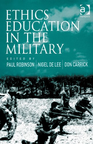 9780754671145: Ethics Education in the Military