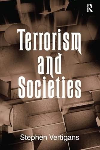 9780754673286: Terrorism and Societies