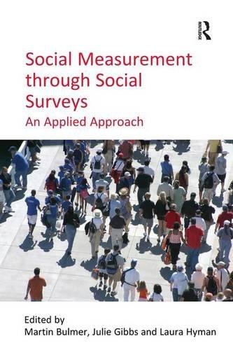 9780754674887: Social Measurement through Social Surveys: An Applied Approach