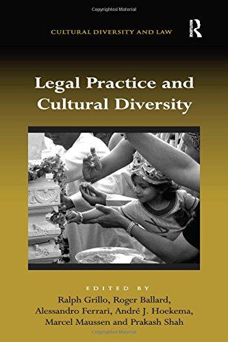 Legal Practice and Cultural Diversity: Parry, Deborah (Editor)/