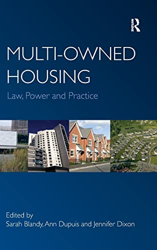 Multi-owned Housing (0754675661) by Sarah Blandy; Ann Dupuis; Jennifer Dixon