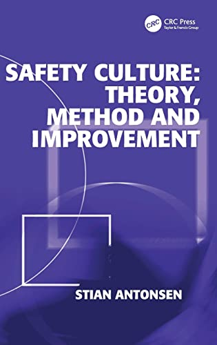 9780754676959: Safety Culture: Theory, Method and Improvement