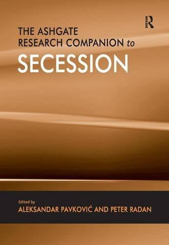 9780754677024: The Ashgate Research Companion to Secession