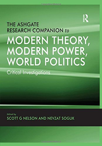9780754679073: The Ashgate Research Companion to Modern Theory, Modern Power, World Politics: Critical Investigations