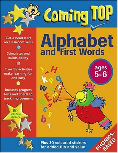 9780754816850: Coming Top: Alphabet and First Words for Ages 5-6: Sticker Books