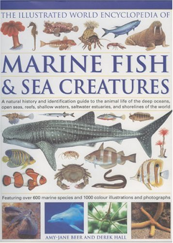 9780754817253: The Illustrated World Encyclopedia of Marine Fishes & Sea Creatures: A Natural History and Identification Guide to the Animal Life of the Deep Oceans, ... Waters, Saltwater Estuaries, and Shoreline