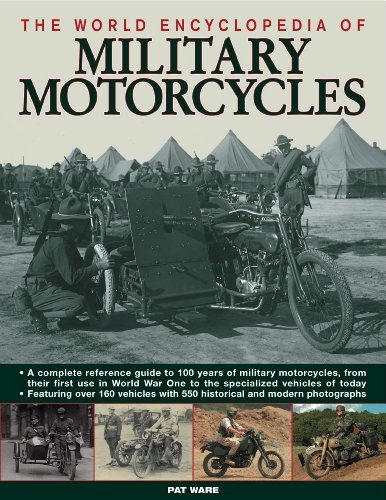 The World Encyclopedia of Military Motorcycles (Hardcover): Pat Ware