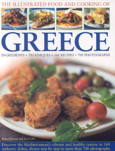 9780754819851: The Illustrated Food and Cooking of Greece