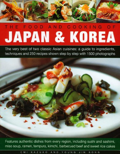 9780754820543: The Food and Cooking of Japan & Korea