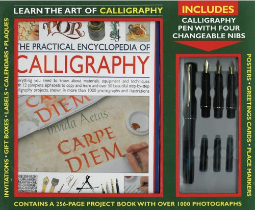 9780754822479: The Practical Encyclopedia of Calligraphy: Learn the Art of Calligraphy