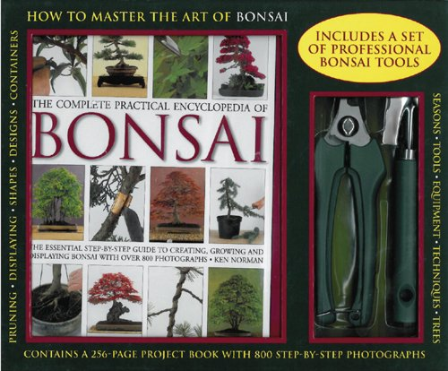 9780754822486: The Complete Practical Encyclopedia of Bonsai Kit: How to Master the Art of Bonsai: a 256-page Practical Book and Set of Professional Bonsai Tools