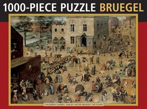 9780754825203: Children's Games by Bruegel: 1000 Piece Puzzle