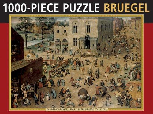 9780754825203: Children's Games by Bruegel: 1000 piece puzzle