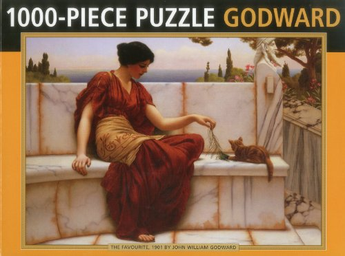 9780754825210: The Favourite by Godward: 1000-piece puzzle