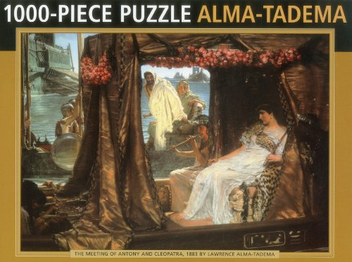 9780754825227: The Meeting of Antony and Cleopatra, 1883 by Lawrence Alma-Tadema: 1000 Piece Puzzle