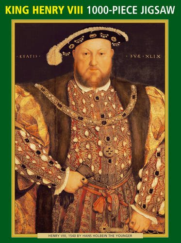 9780754825234: Henry VIII by Hans Holbein the Younger: 1000-Piece Puzzle