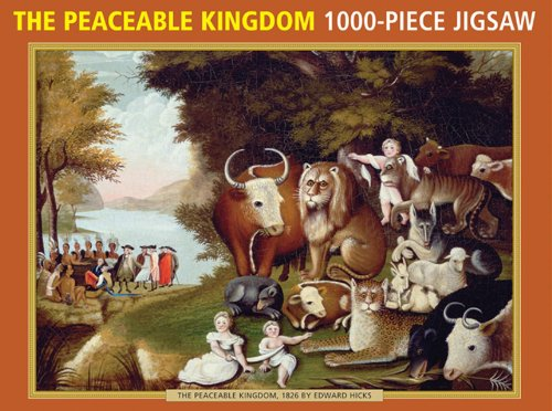 9780754825258: The Peaceable Kingdom by Edward Hicks: 1000-Piece Puzzle (1000 Piece Jigsaws)